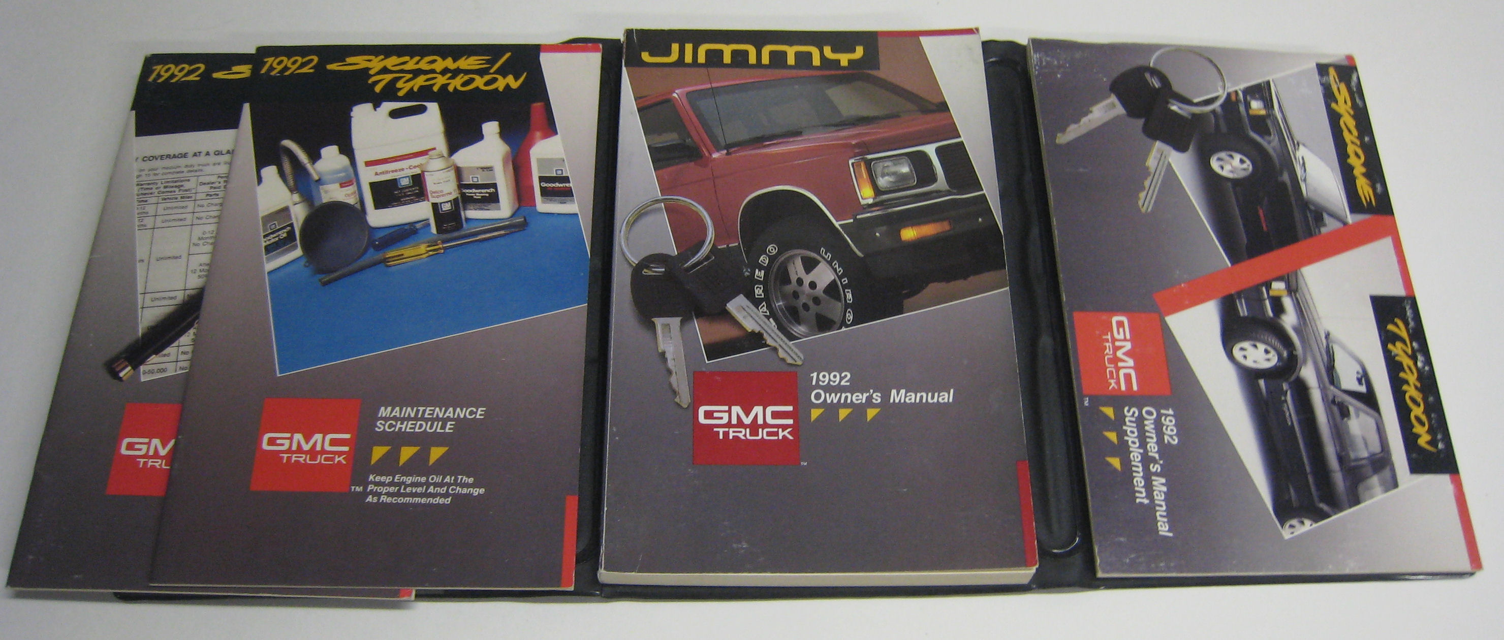 1991 GMC Syclone used Owners Manual $150.00.