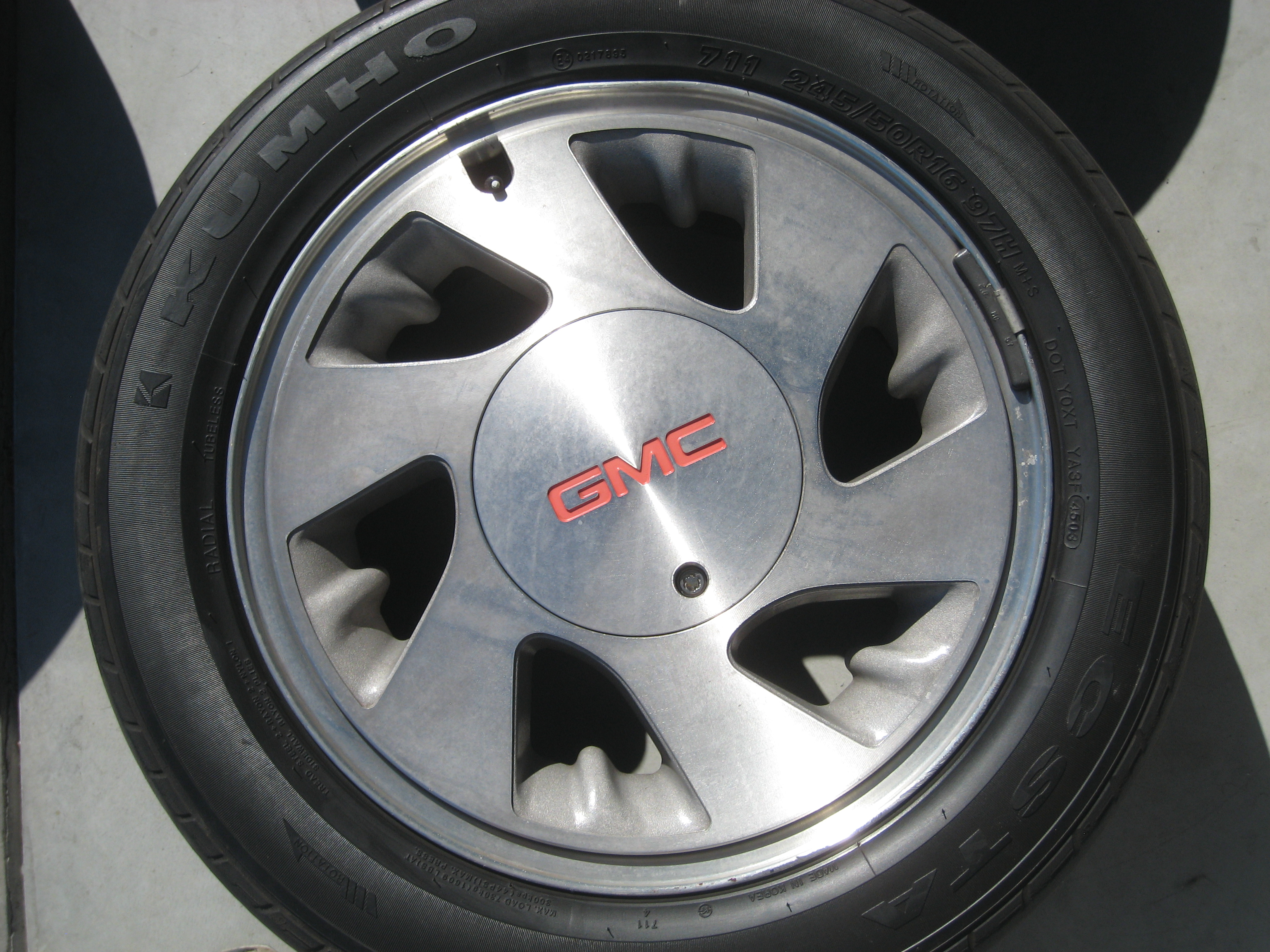 Gmc Syclone Typhoon Rims