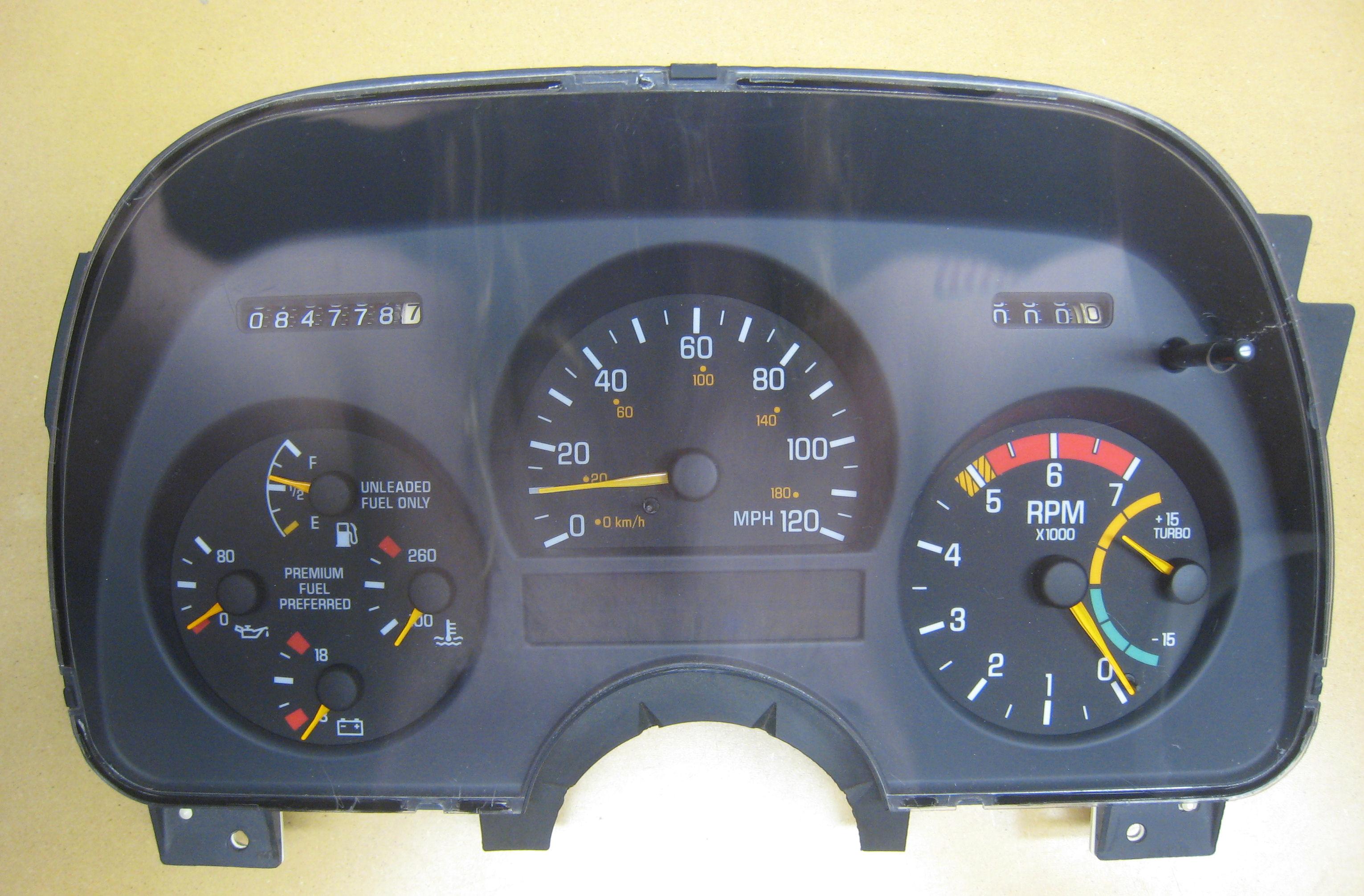 Service Manual 1992 Gmc Sonoma Cluster Ligth Repair Honda Accord Ke Light Wiring Diagram 92